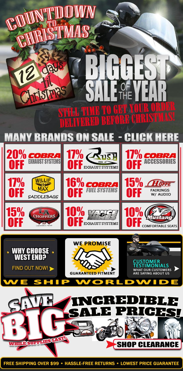 West end motorsports 12 days left to save up to 20 off for Yamaha sports plaza promo code