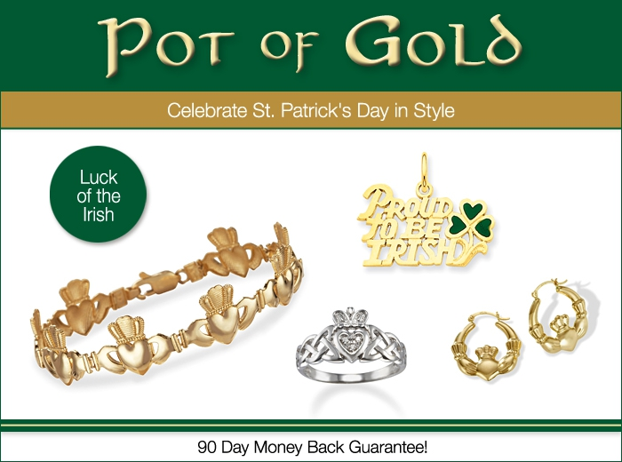 Heavenly treasures celebrate st patrick 39 s day in style for Irish jewelry stores in nj