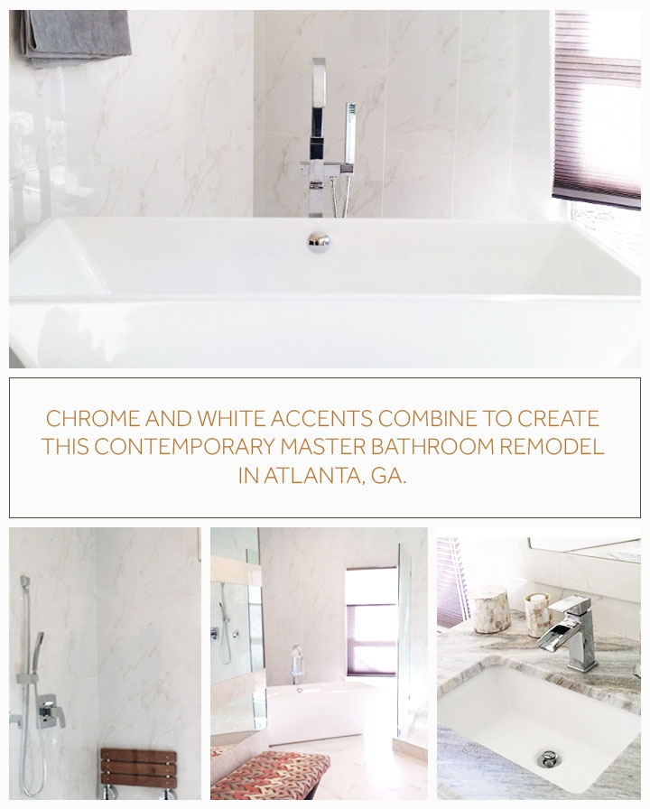 Signature hardware see this atlanta bathroom s for Bathroom remodel 41017