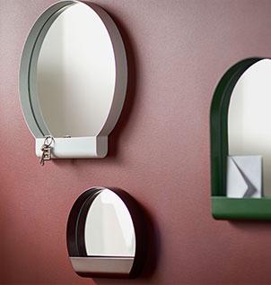 A multipurpose mirror