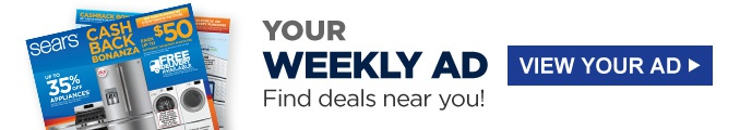 YOUR WEEKLY AD Find deals near you! | VIEW YOUR AD
