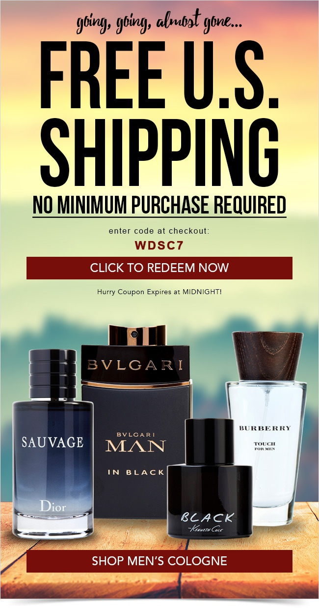 Going, going, almost gone: Free Shipping ends tonight