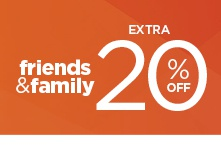 take an extra 20% off using promo code FFSAVE20. shop now.