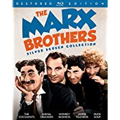 The Marx Brothers Silver Screen Collection (The Cocoanuts / Animal Crackers / Monkey Business / Horse Feathers / Duck Soup) [Blu-ray]