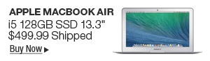 Newegg Flash - Apple MacBook Air i5 128GB SSD 13.3