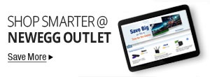 Shop Smarter at Newegg Outlet