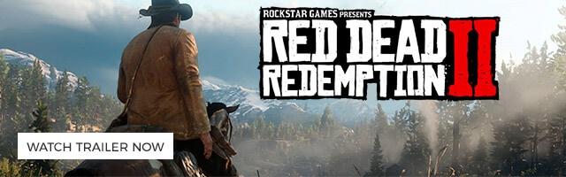 Red Dead Redemption II WATCH TRAILER NOW >