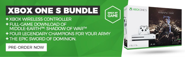 Xbox One S Bundle - Only at GAME - PRE-ORDER NOW >