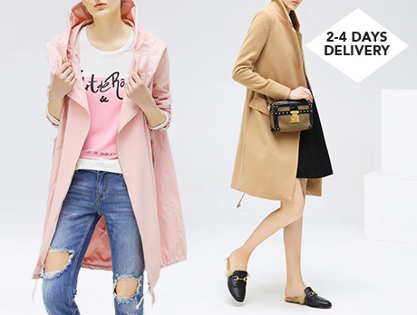 Essentials For Her: Coats