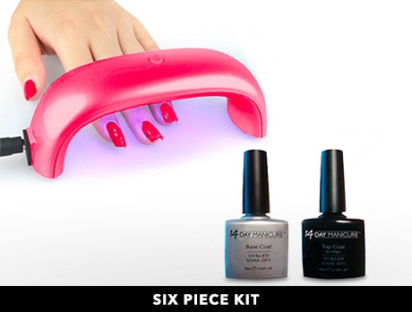 Christmas UV LED Nail Kit