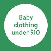 Baby clothing from $10
