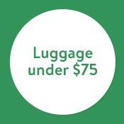 Luggage under $75