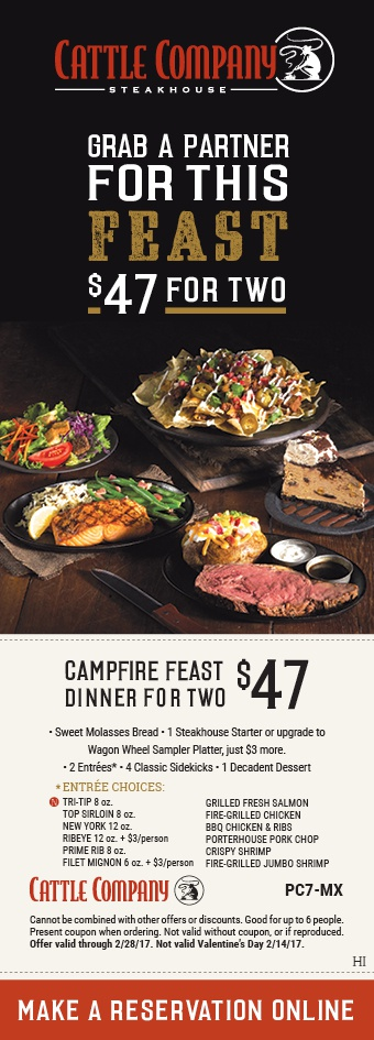Top Black Angus Steakhouse coupon: 5% Off. Find 8 Black Angus Steakhouse coupons and promo codes for December, at anatomi.ga Get a coupon for a Free Dessert when you join the Black Angus Prime Club. It's free. Campfire feast dinner for two for only $ Offer has ended. Print Coupon Show Coupon.