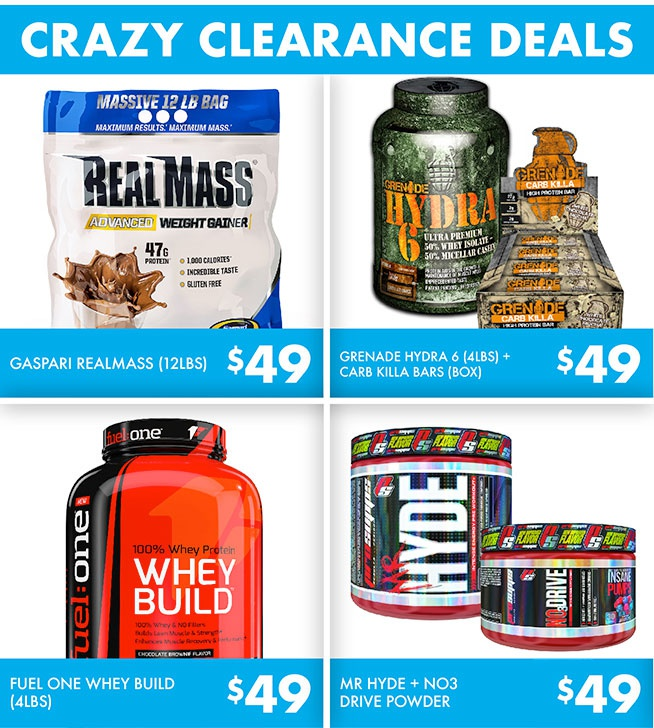 Coupons for nz muscle