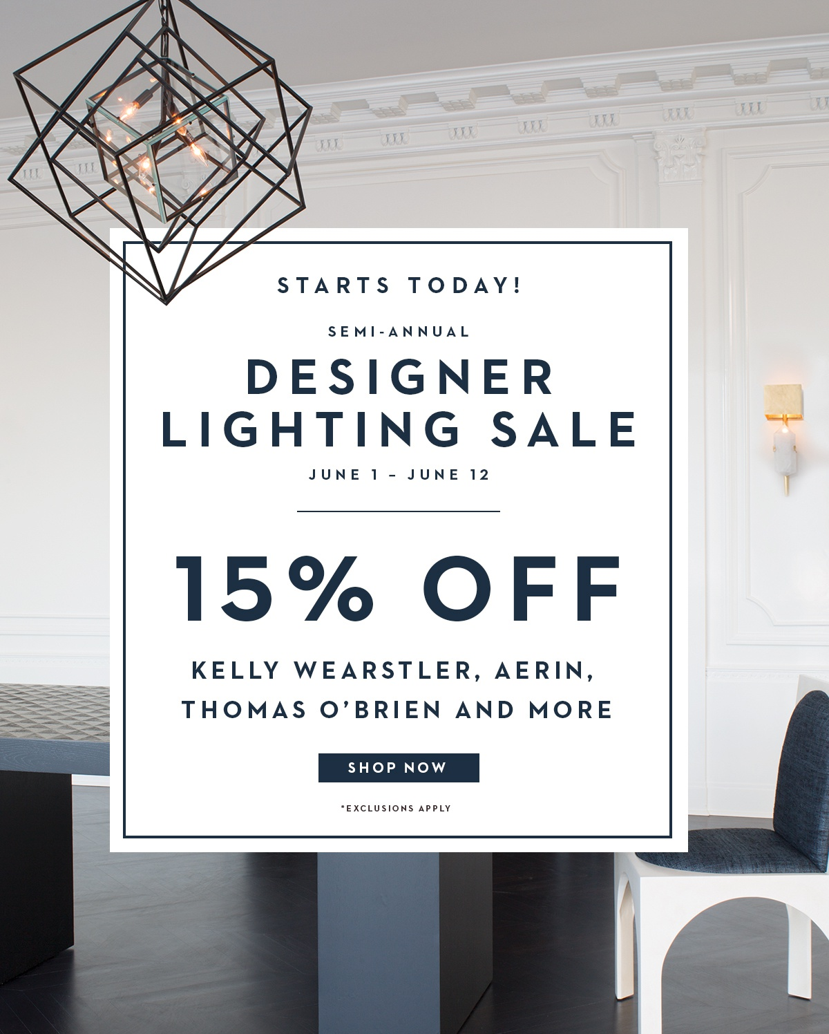 Gracious Home Starts Today 15 Off Designer Lighting