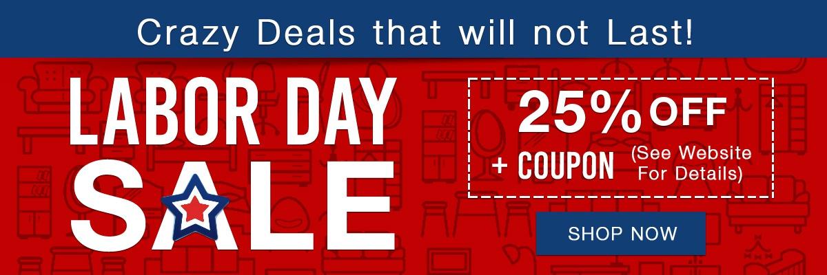 La furniture store labor day sale for Labor day sale furniture