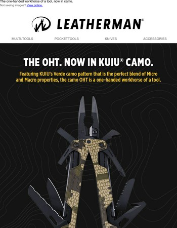 Don't miss out on the OHT in KUIU® camo