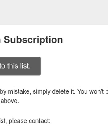 The MIT Press Blog Digest: Please Confirm Subscription