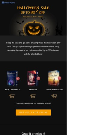 Halloween Offers for Photographic Pros