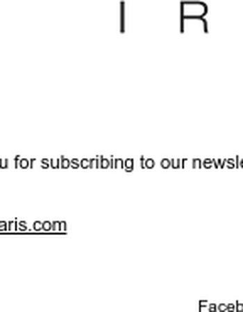 Inscription à la Newsletter IRO