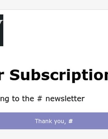 Newsletter Success