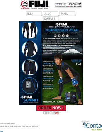 NEW HIGH PERFORMANCE COMPRESSION WEAR - Train Longer, Train Harder & Recover Quicker!