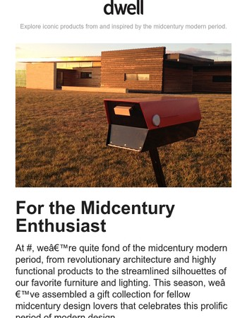 Find Classic Gifts for Midcentury Lovers