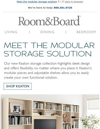 Personalization is easy with our new storage collection