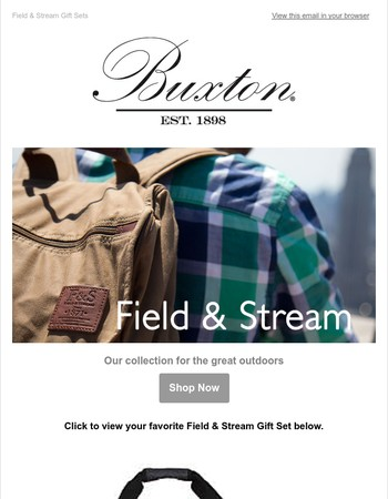 Field & Stream Gift Sets over 50% Off!