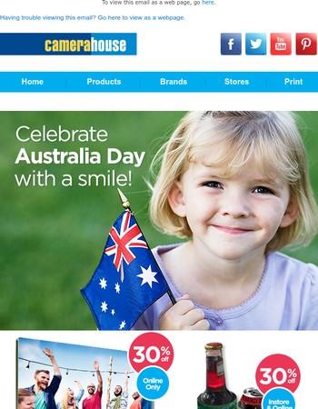 Celebrate Australia Day with a smile...