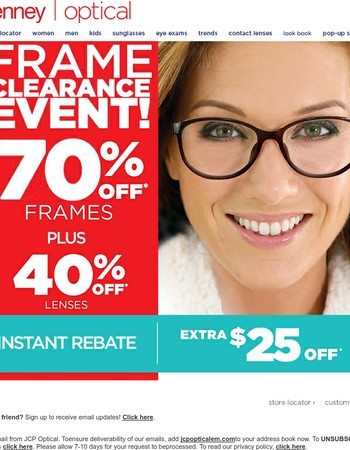 jcpenney optical coupon