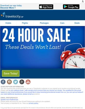 24 Hour Deals - Expire Soon!