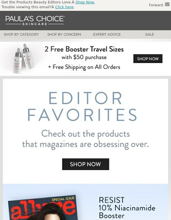 We're Blushing | These Editor Faves Ship Free