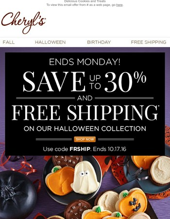 The clock is ticking! Time to Save 30% + FREE Shipping