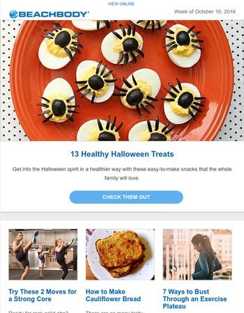 13 Healthy Halloween Treats