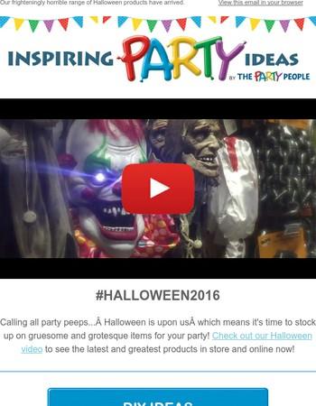BOO! Horrible Halloween Ideas & Top Sellers