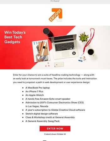 Win Today's Best Tech Gadgets!