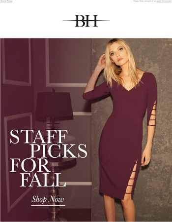 Staff Picks for Fall | Shop Now