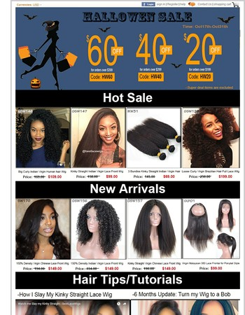 Bestlacewigs Halloween Sale | Up to $60 OFF | Do not Miss!!!
