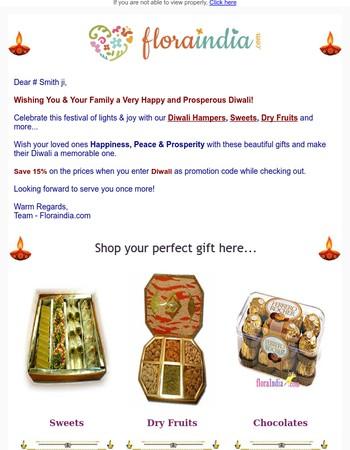 Send Diwali Hampers To India