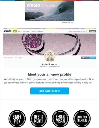 New Picks and profiles