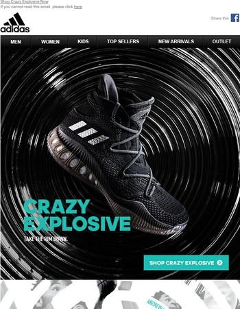 Crazy Explosive: Take The Rim Down