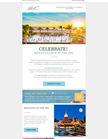Plan a Holiday Adventure at Beach Village