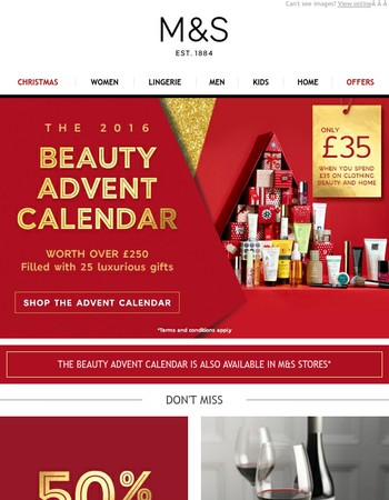 The Beauty Advent Calendar is here!