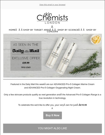 Your exclusive offer on the Pro-5 Collagen Range