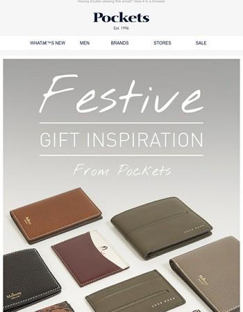 Festive Gift Inspiration - Wallets