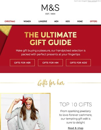 The ultimate M&S gift guide