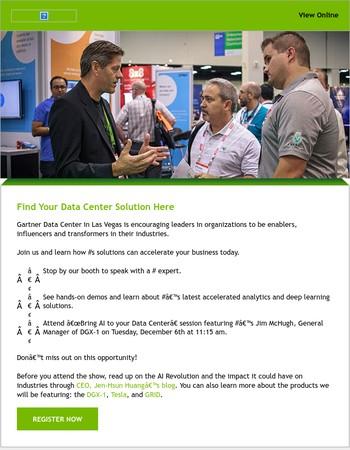 Learn How You Can Transform Your Enterprise at Gartner Data Center