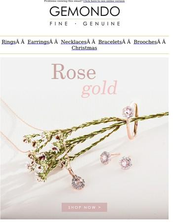 Trend Alert: Rose Gold Jewellery