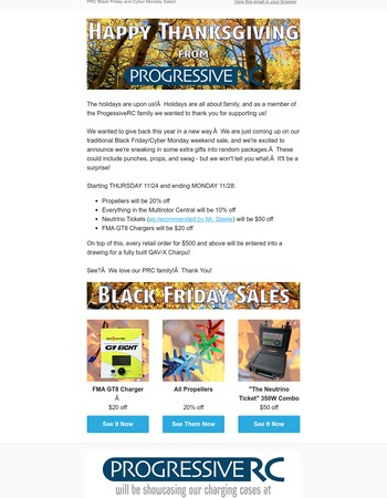 Announcing Black Friday Deals!
